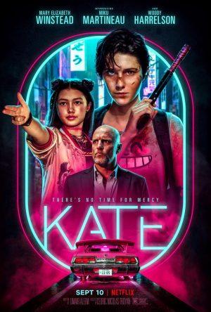 kate film netflix 2021 poster