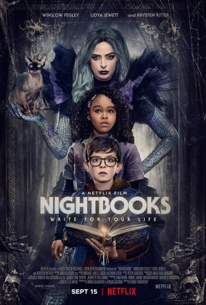 nightbooks film netflix 2021 poster