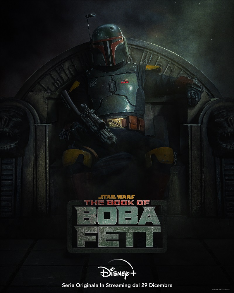 The Book of Boba Fett serie Disney+ 2021 poster