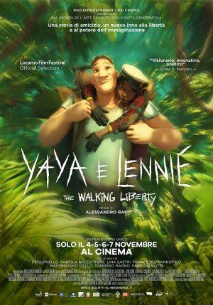 YAYA E LENNIE - THE WALKING LIBERTY film poster 2021