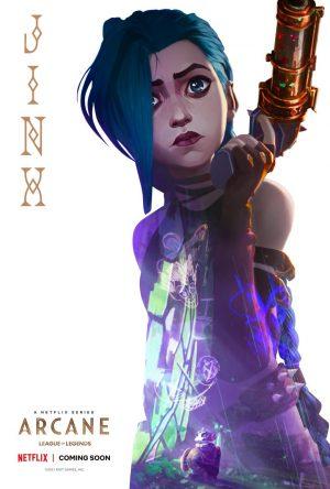 arcane serie netflix 2021 poster