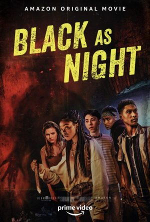 black as night film 2021 amazon poster