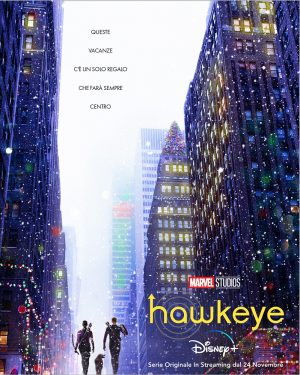 hawkeye serie disney poster 2021