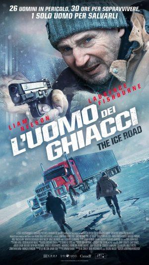 l'uomo dei ghiacci - the ice road film poster 2021