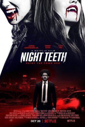 night teeth film poster netflix 2021