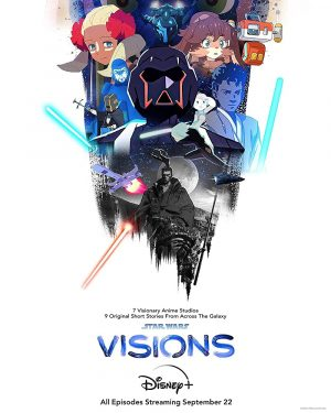 star wars visions serie 2021 poster