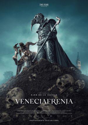 veneciafrenia film de la iglesia 2021 poster